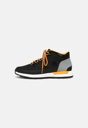 SPRINT TREKKER MID WP ULTD - Höga sneakers - black/orange
