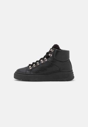 Sneakersy wysokie - black/silver