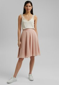 Esprit Collection - A-line skirt - nude - 1