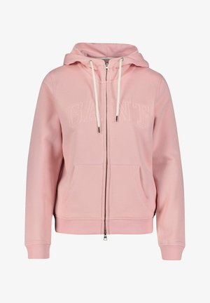 ARCH TONAL - Zip-up sweatshirt - rose