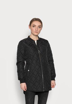 ONLALLISON QUILTED LONG - Short coat - black