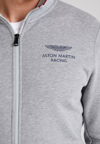 Hackett Aston Martin Racing - Felpa aperta - mid grey - 4