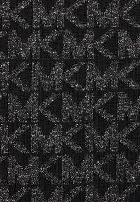 MICHAEL Michael Kors - SKIRT - Pencil skirt - black/silver - 6