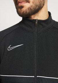 Nike Performance - ACADEMY SUIT - Survêtement - black/white - 7