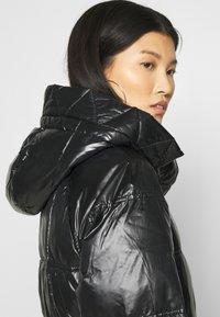 GAP - LONG PUFFER COAT - Winter coat - true black - 5