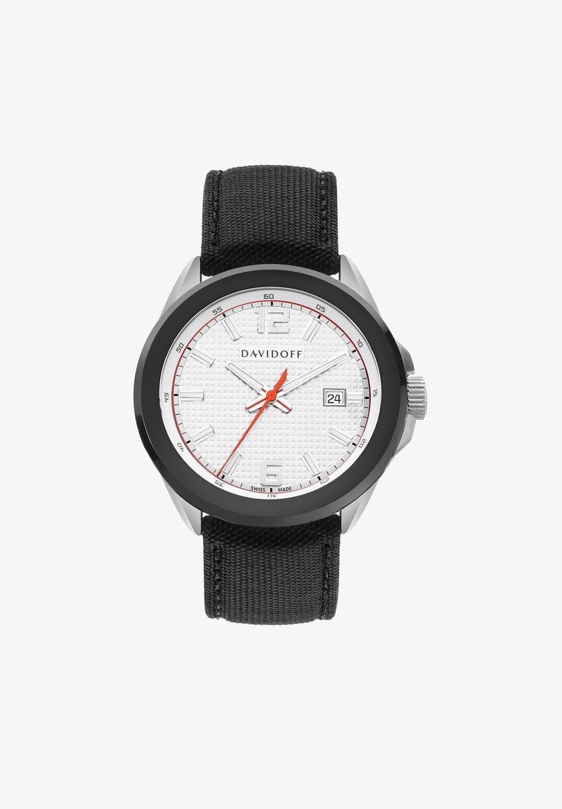 DAVIDOFF - ESSENTIALS - Watch - silber-schwarz