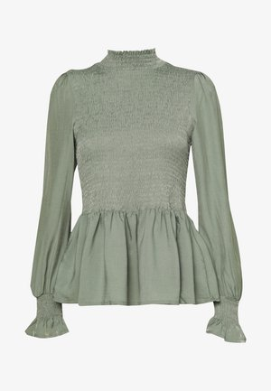 BLOUSE - Bluser - sea green