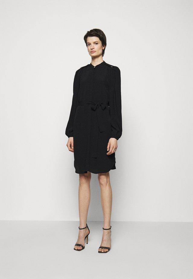 LILLI CACILIA SHIRT DRESS - Shirt dress - black