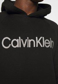 Calvin Klein Underwear - HOODIE - Felpa con cappuccio - black - 4