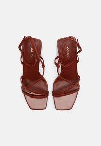 ALDO - RENDALITH - Sandals - medium red - 4