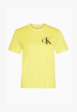 Print T-shirt - solar yellow