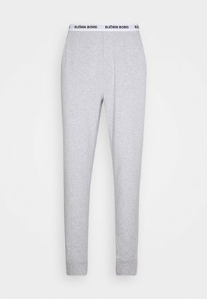SOLID CLIFF CUFFED PANT - Pyjamabroek - grey melange