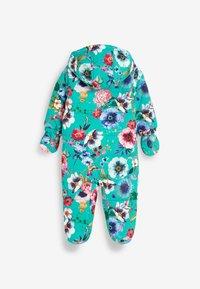 Next - FLORAL  - Sleep suit - blue - 1