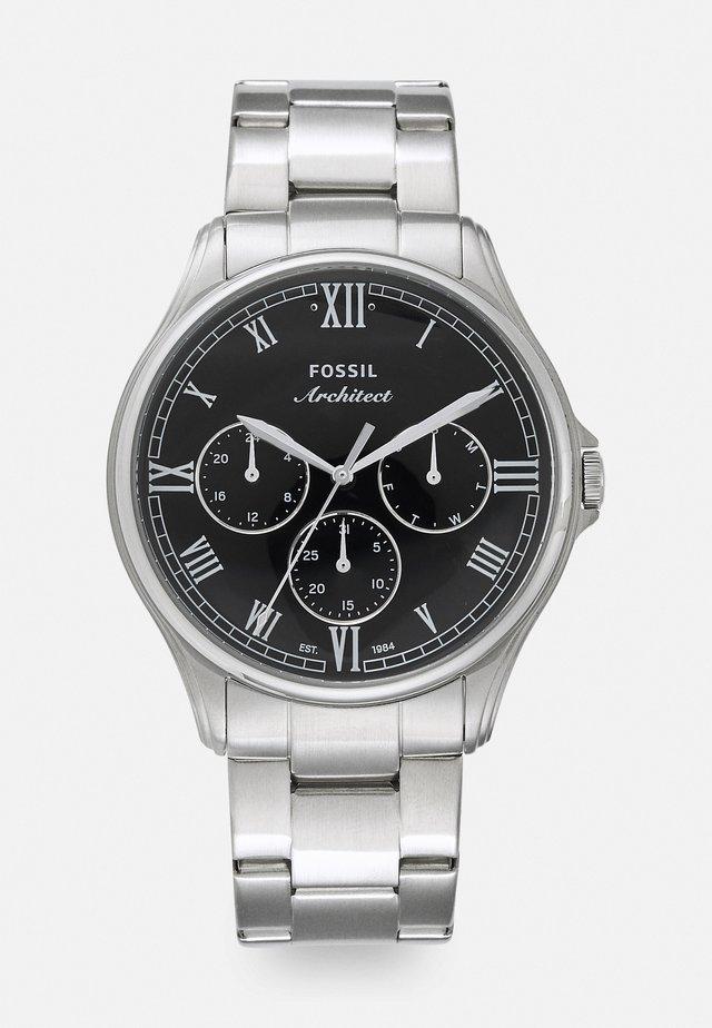 Kronografklokke - silver-coloured