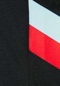 Nike Performance - DRY STRIPE - Top - black/chile red - 6