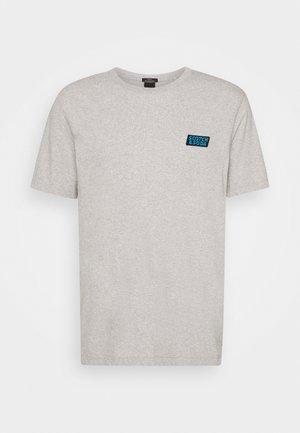CREWNECK TEE  - Print T-shirt - grey melange