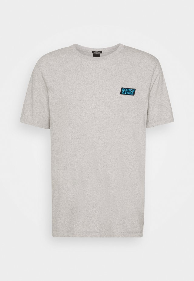 CREWNECK TEE  - T-shirts med print - grey melange