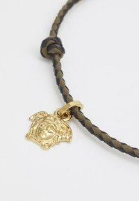 Versace - FASHION JEWELRY UNISEX - Necklace - khaki/nero/oro - 2