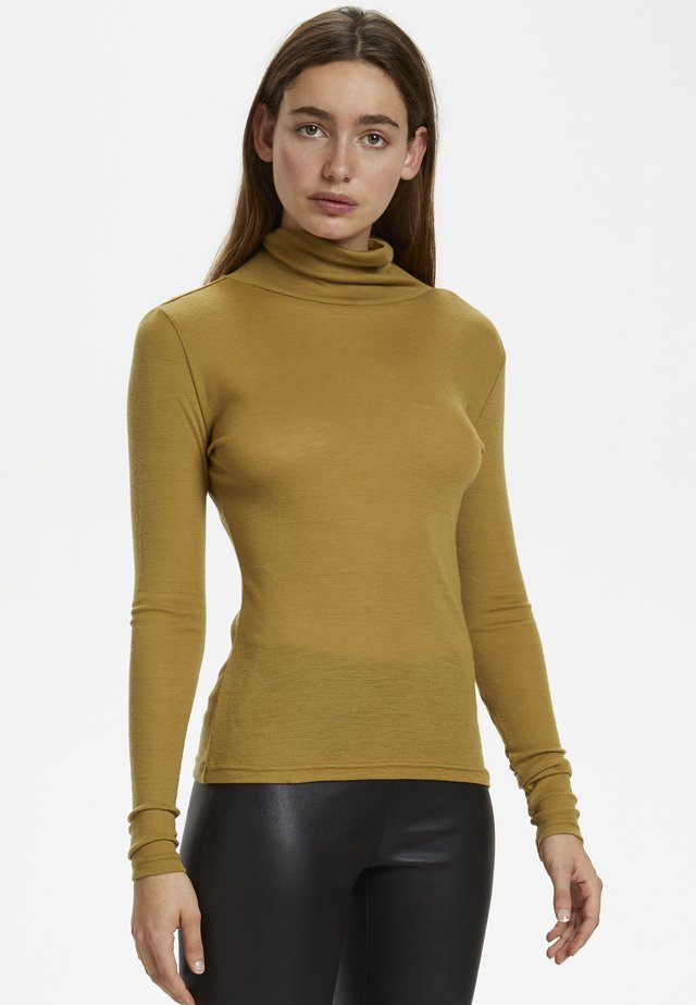 WILMAGZ  - T-shirt à manches longues - bone brown