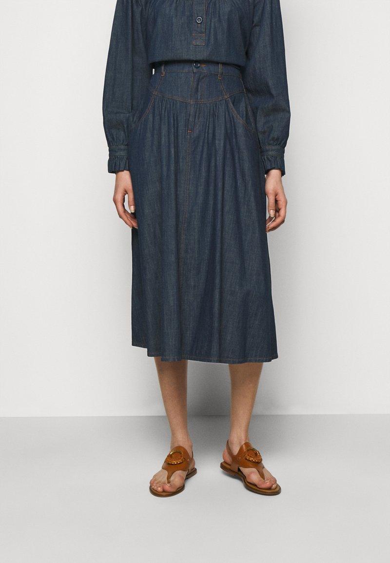 See by Chloé - Denim skirt - denim blue