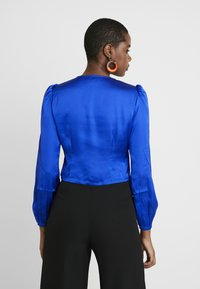 Dorothy Perkins - LOLA SKYE BUTTON THROUGH - Bluse - cobalt - 2