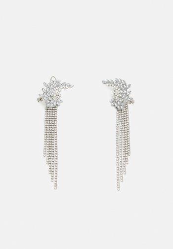 PCMILLA EARRINGS - Earrings - silver-coloured