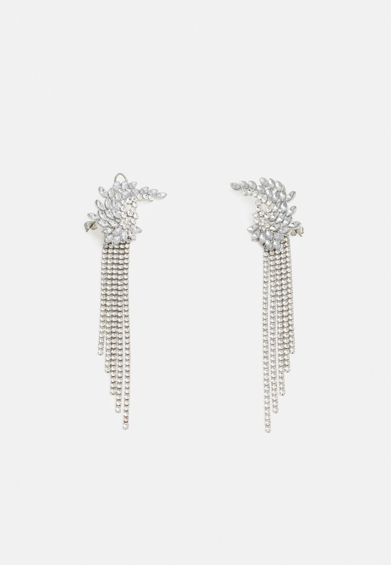 Pieces - PCMILLA EARRINGS - Oorbellen - silver-coloured