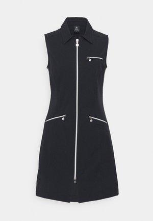 GLAM DRESS - Day dress - black