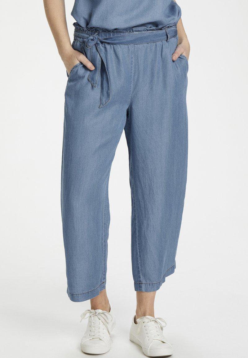 Cream - SUNACR  - Kalhoty - denim blue