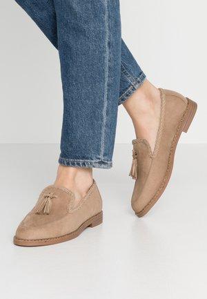 Scarpe senza lacci - sand