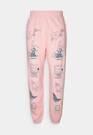 CLIP ART  - Tracksuit bottoms - pink