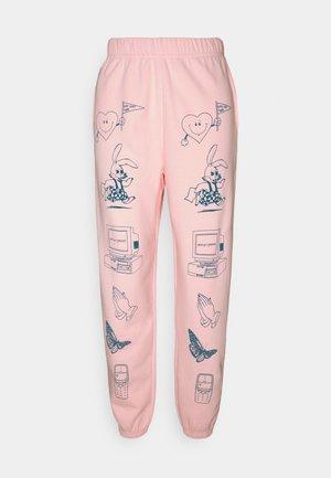CLIP ART  - Træningsbukser - pink