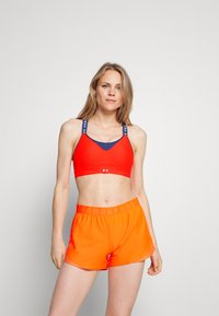 Under Armour - INFINITY HIGH BRA - High support sports bra - red - 0