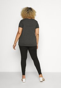 Dr.Denim Plus - NOVA - Jeggings - black crow - 2