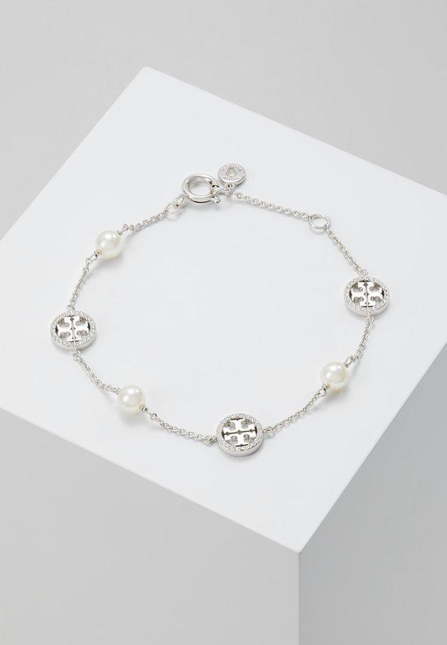 DELICATE LOGO BRACELET - Bracelet - silver-coloured