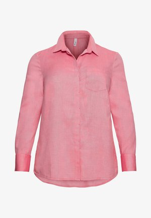 Button-down blouse - flamingo