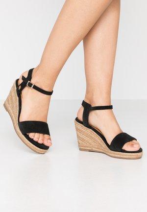 ESTELLE - Sandalen met hoge hak - black