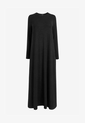 LONG SLEEVE COLUMN - Maxi dress - black