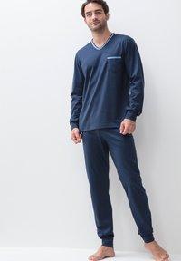 Mey - SET - Pyjama set - yacht blue - 1