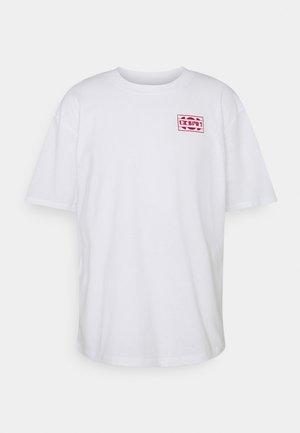 SUNRIDDIM  UNISEX - T-shirt con stampa - white