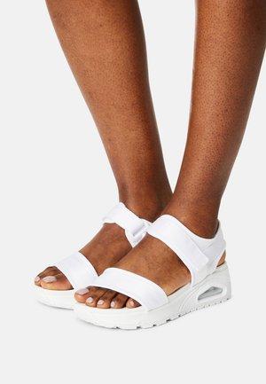UNO - Sandals - white