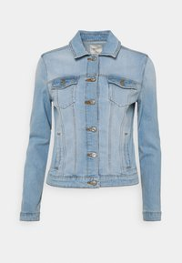Springfield - CAZADORA - Jeansjakke - medium blue - 0