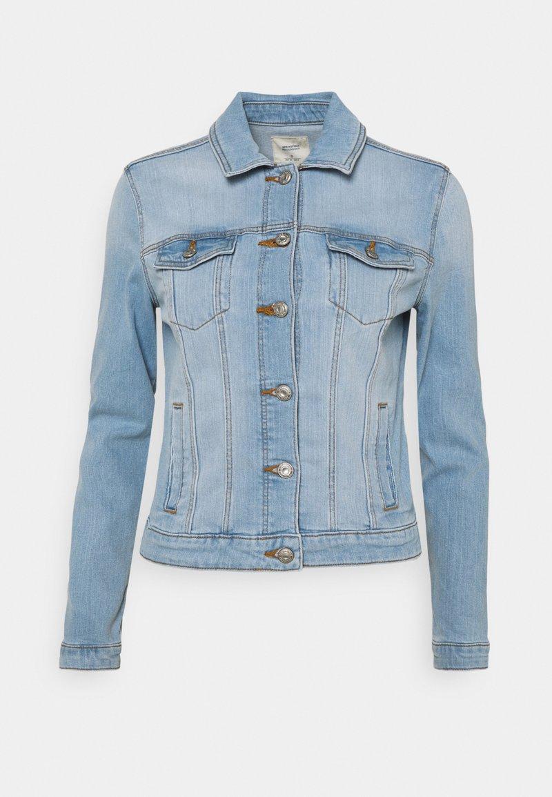 Springfield - CAZADORA - Jeansjakke - medium blue