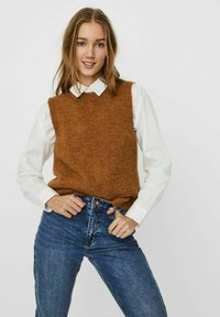 Vero Moda - Top - tobacco brown - 0