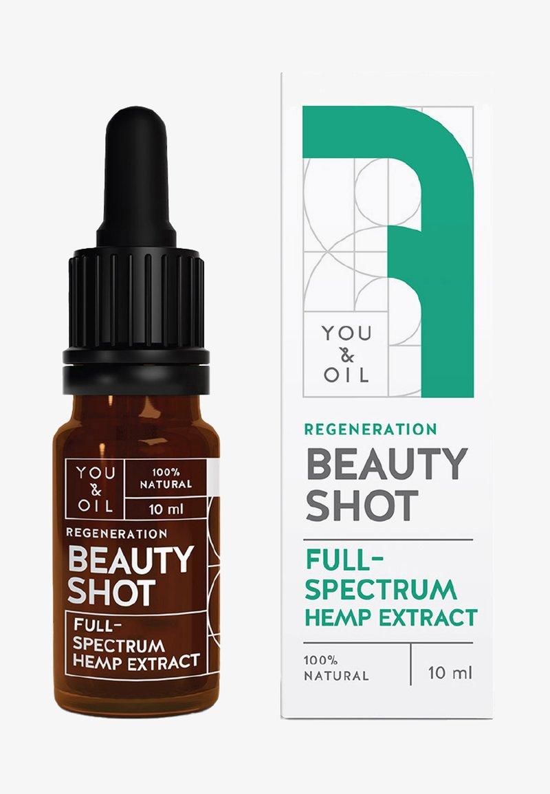 YOU & OIL - REJUVENATING FULL-SPECTRUM HEMP EXTRACT  - Serum - -