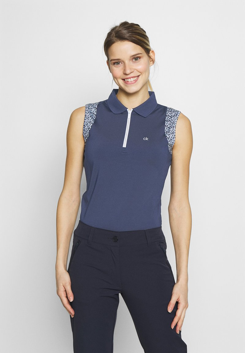 Calvin Klein Golf - ALAMERE SLEEVELESS - Poloshirts - navy