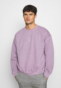 Topman - VERT ROME PRINT - Sweatshirt - lilac - 0