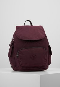 Kipling - CITY PACK S - Reppu - dark plum - 0