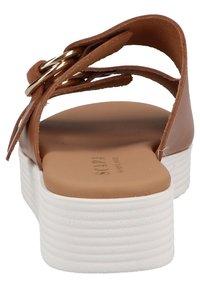 Scapa - Platform sandals - cognac - 2