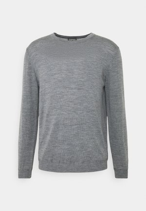 NECK - Strikpullover /Striktrøjer - grey
